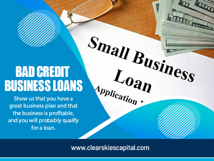 Small Business Loan With Bad Credit