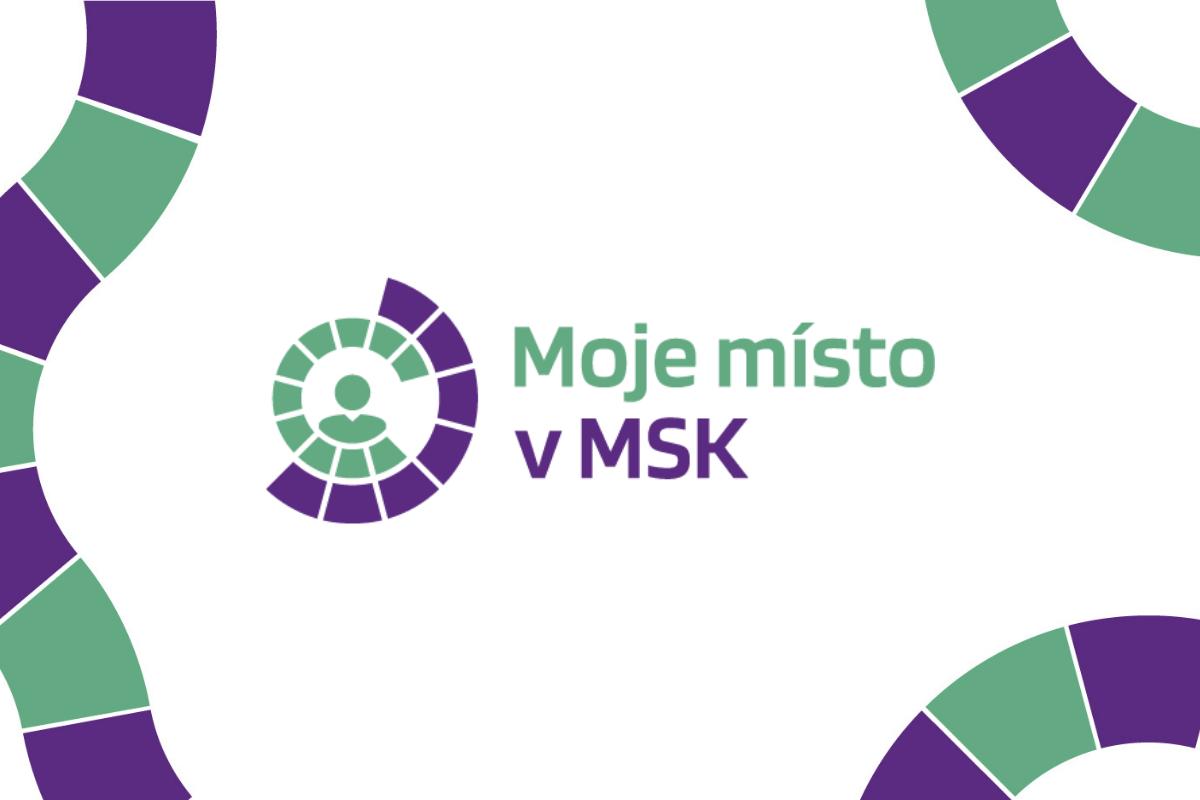Logo Moje místo v MSK