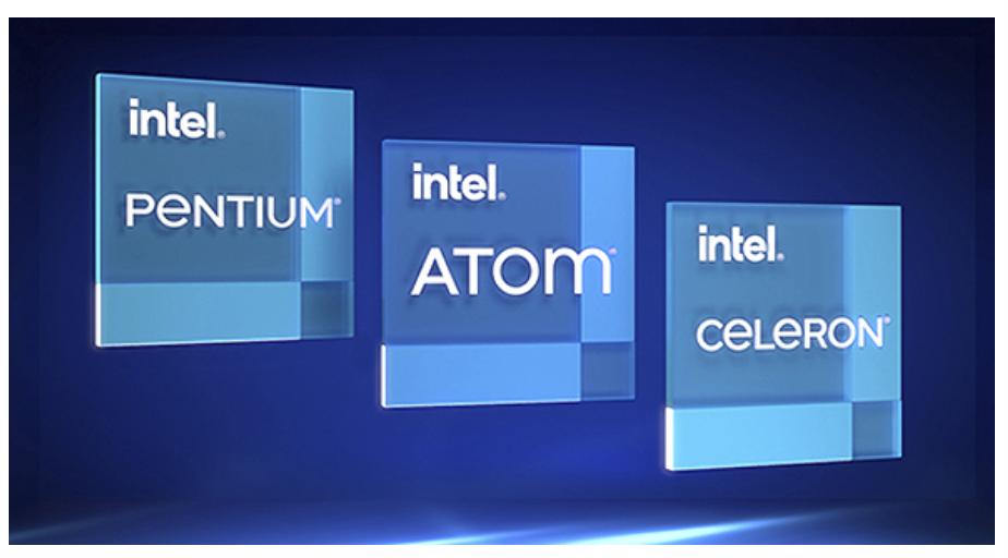 Intel Core, Atom, Celeron and Pentium processors with announced enhanced IoT capabilities