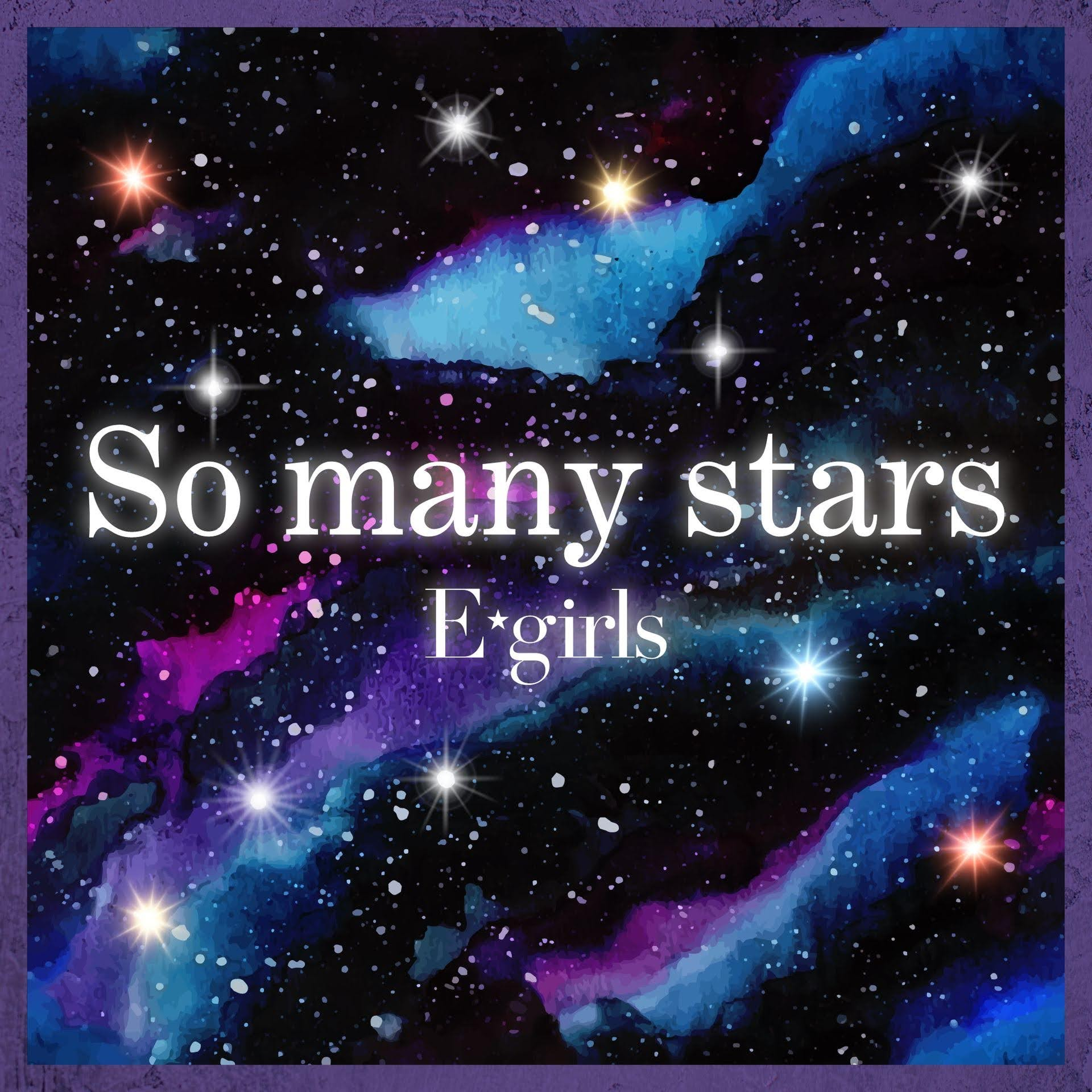 "Capa do single digital ""So many stars""."