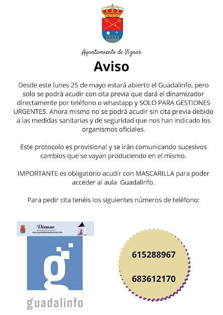 Apertura Guadalinfo Covid19