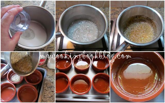 Кокосов крем карамел по Виетнамски (Banh gan)