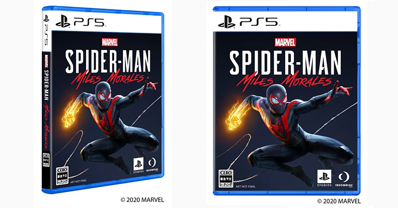 PS5 BOX กล่องสไปเดอร์แมน! กับการเปลี่ยนความสำคัญสู่ ดิจิตอล