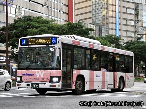 西鉄 那珂川 1254_01 渡辺通幹線バス