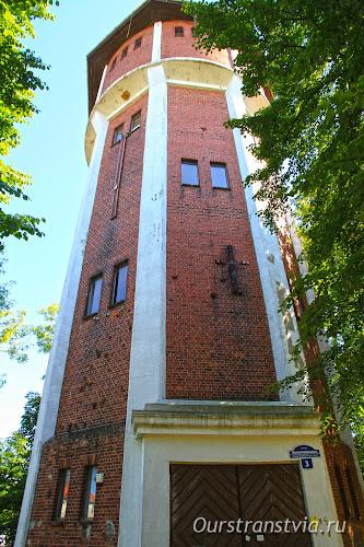 Достопримечательности Янтарного - водонапорная башня