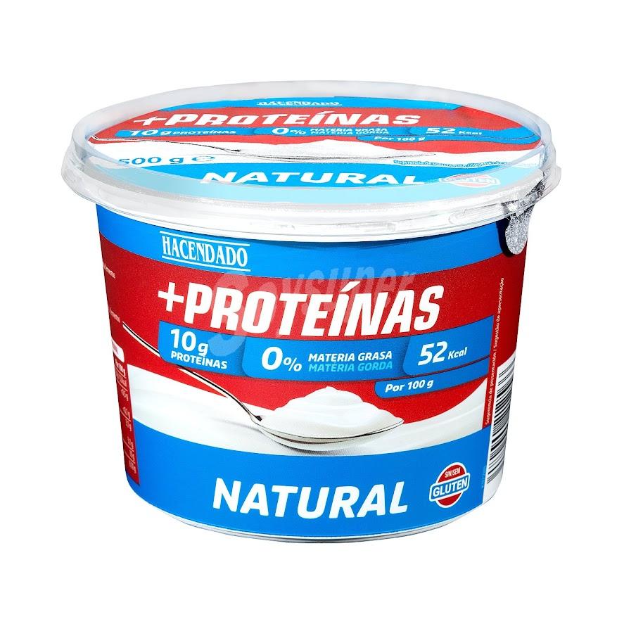 yogur más proteínas