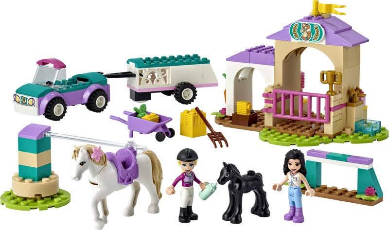 Contenido de LEGO® 41441 Entrenamiento y Remolque Ecuestre