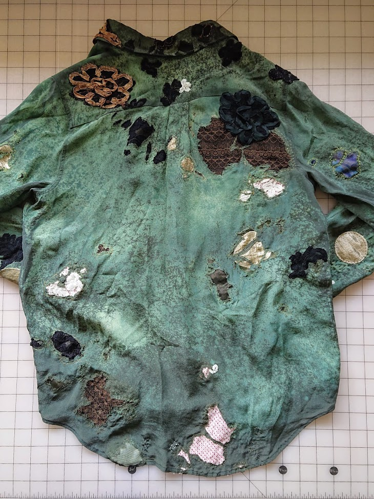 Repair Aftermath - Accidentally Boro Shirt   FAFAFOOM STUDIO