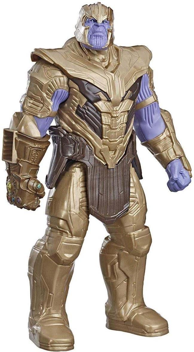 Avengers Marvel Endgame Titan Hero Thanos Gold