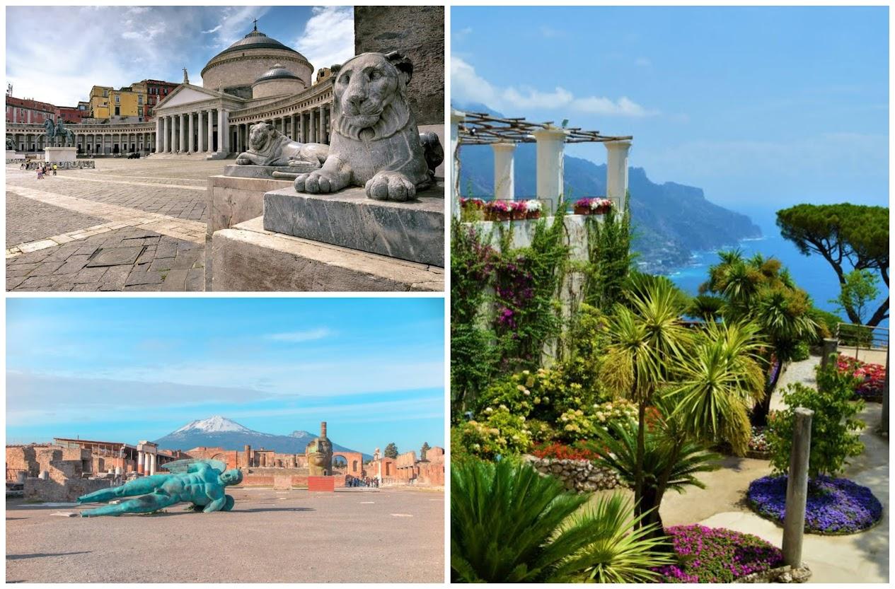 lugares que visitar en el sur de Italia