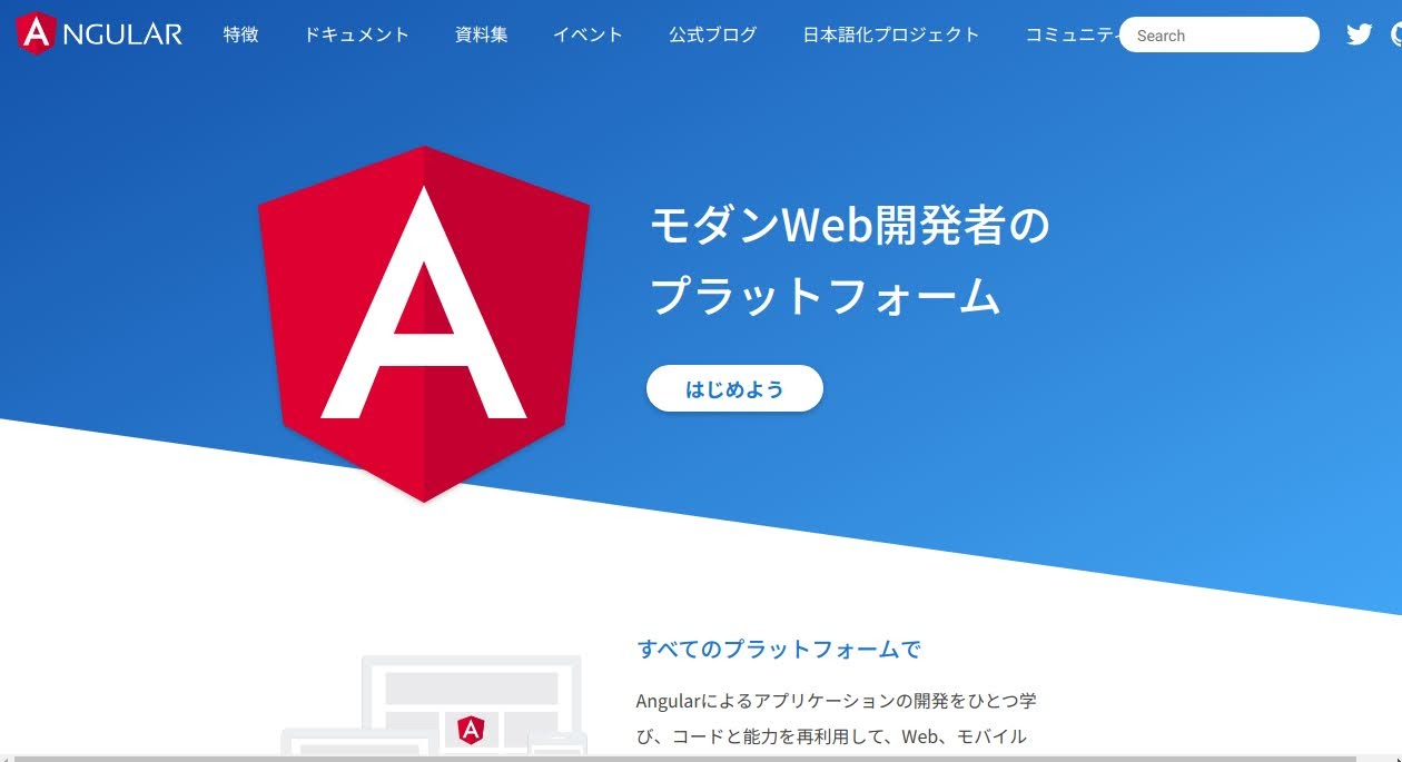 Angular Web site