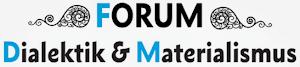 Logo: Forum Dialektik & Materialismus.