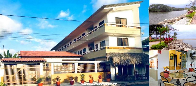 Hotel Chacon Manglaralto En la Ruta del Sol, con baño privado, Wifi, TvCable, Habitaciones dobles, Triples, Matrimoniales, Santa Elena Ecuador