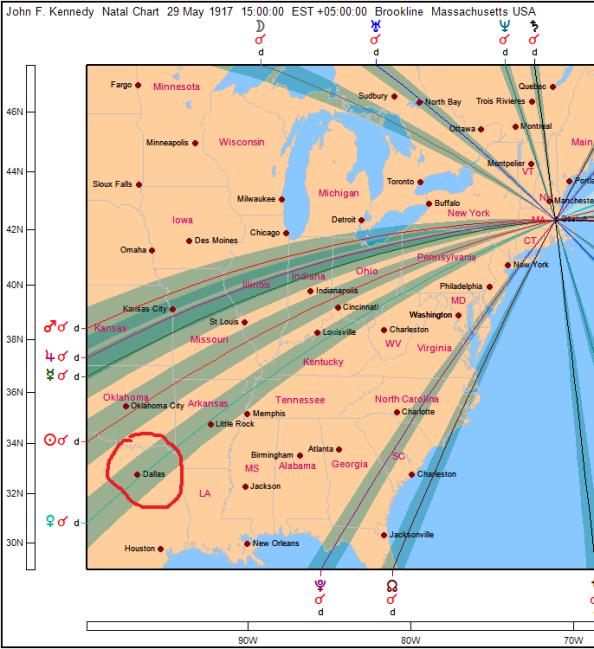 Local Space карта Кеннеди