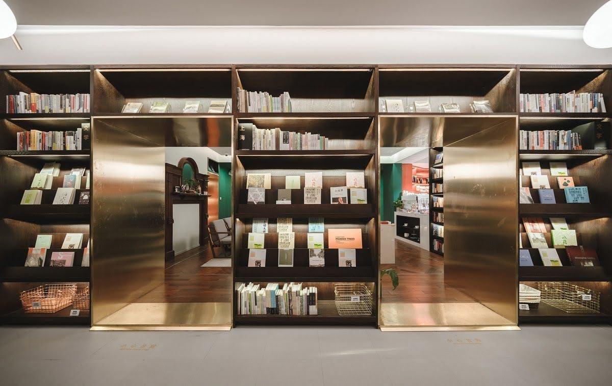 tủ sách thư viện
