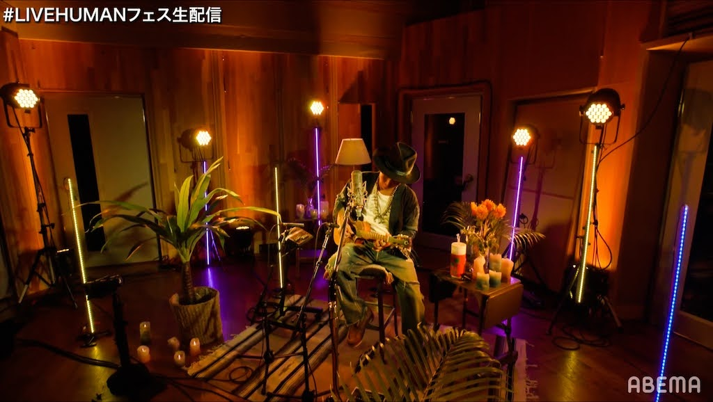 創作歌手 平井大 參演線上音樂祭「 LIVE HUMAN 2020」