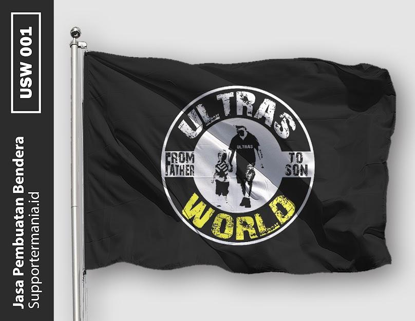 Desain Mini Flag atau Bendera Ultras World