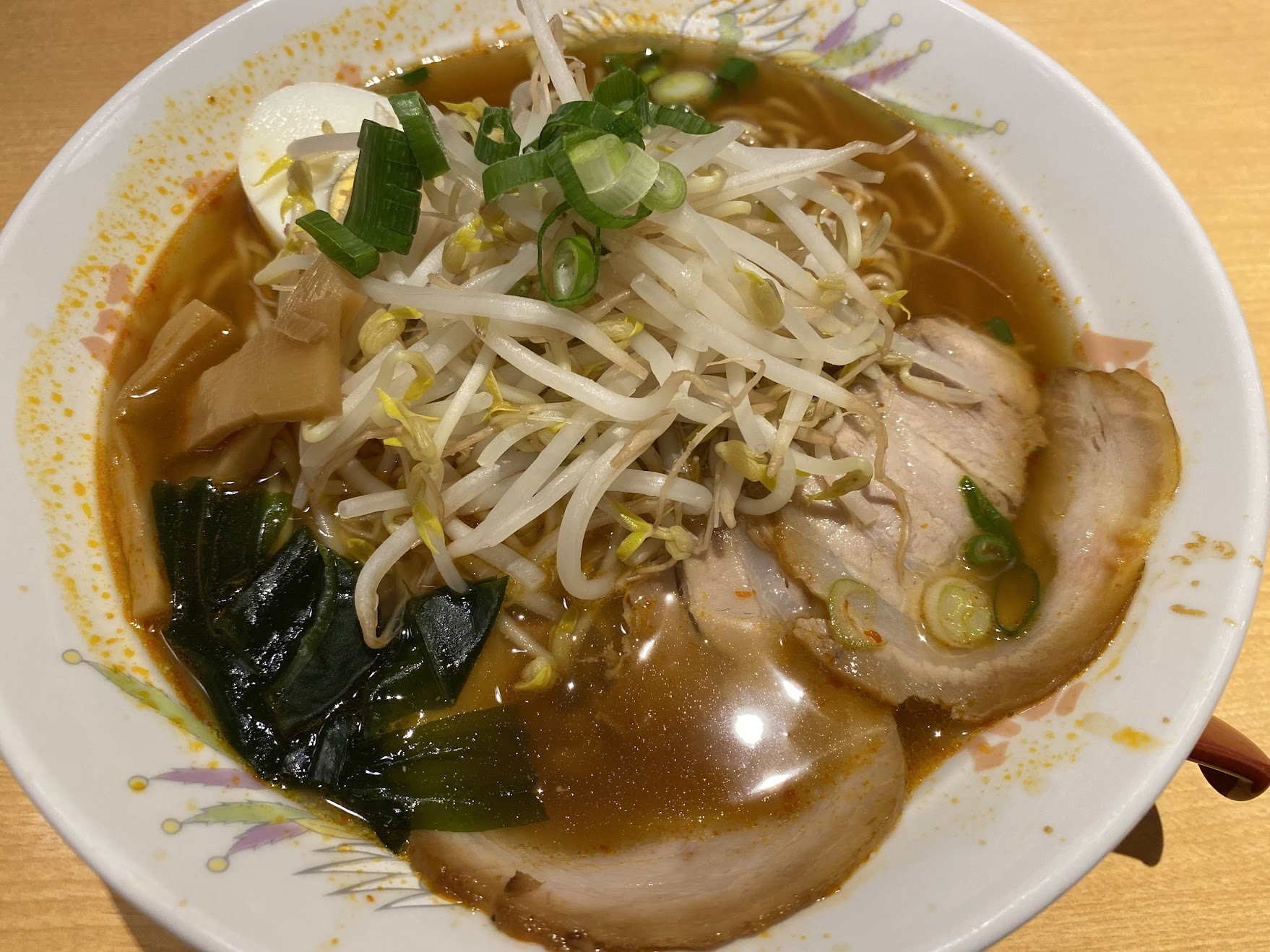 ピリ辛ラーメン(醤油)