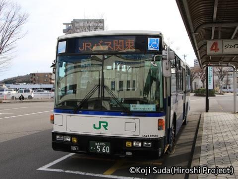 JRバス関東 白河支店 新旧連節バス撮影ツアー_01