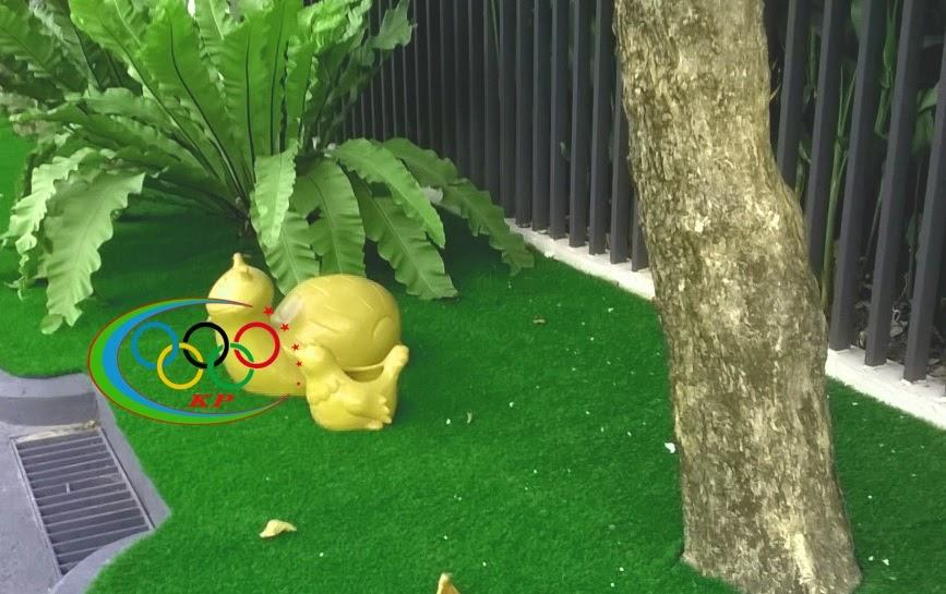 Sử dụng cỏ nhân tạo là Đáp án hay nhất cho trang hoàng hiện nay