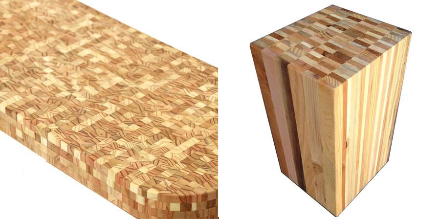 Mặt bàn gỗ phong cách mới lạ