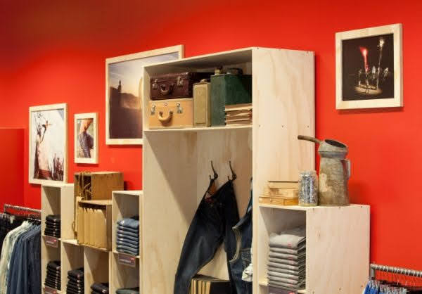 thiết kế shop nội thất thời trang