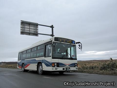 沿岸バス「31 サロベツ線」 ・604 稚咲内第2_01