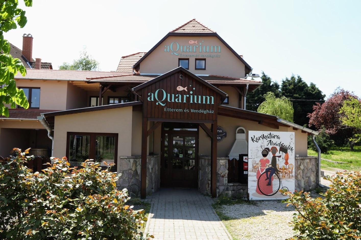 aQuarium panzió és étterem Abádszalók