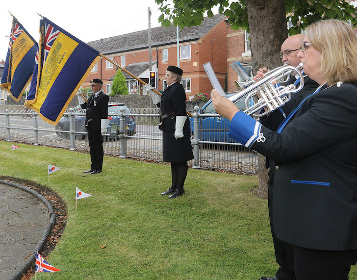 Two minutes silence for VJ Day anniversary