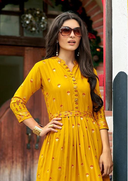 Shruti Vol 2 Rangjyot Latest One Piece Gown Manufacturer Wholesaler