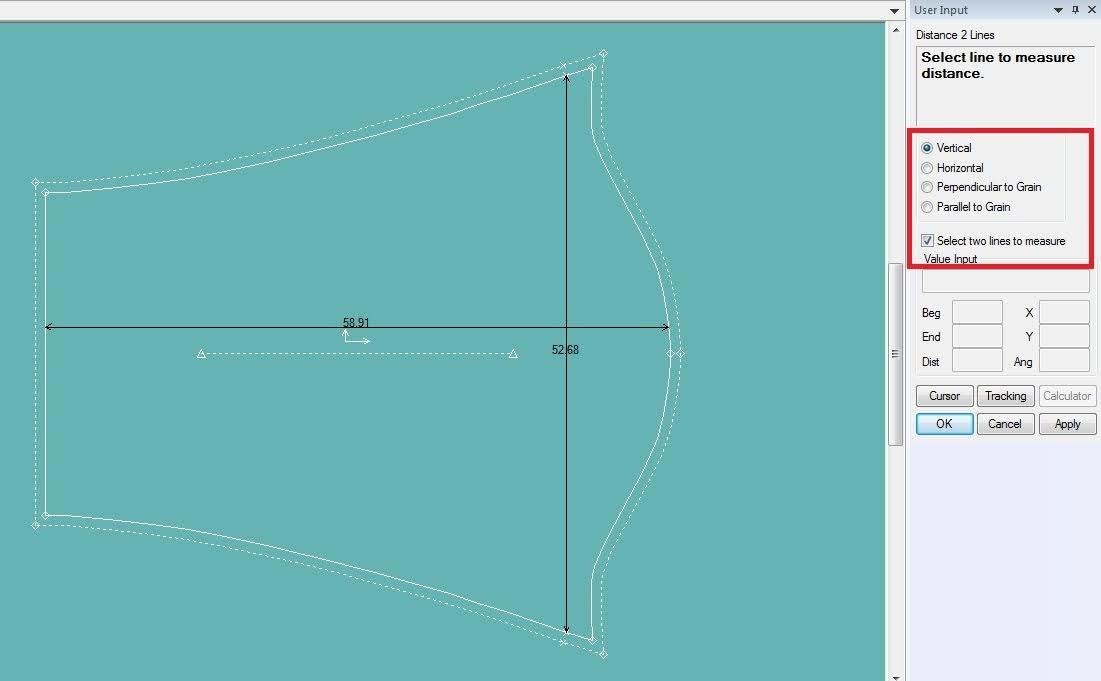 Gerber Pattern Design: Cách Sử Dụng Các Lệnh Đo Thông Số Measure 6