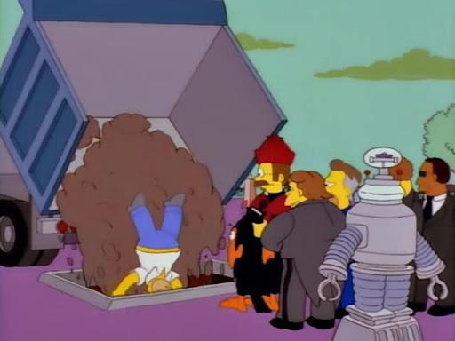 Los Simpsons 10x02 El mago de la terraza Siempreverde