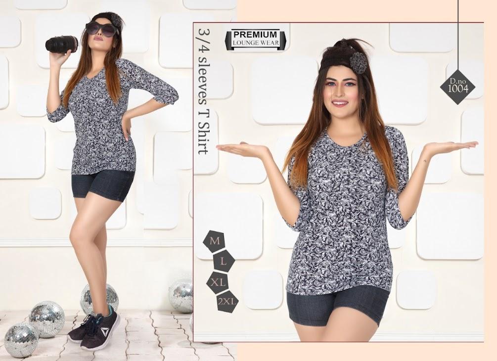 Kavyansika Beauty Vol 10 Women Tshirt Catalog Lowest Price