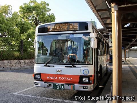 奈良交通「八木新宮線」 ・938 大和八木駅到着_01