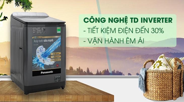 Công nghệ TD Inverter trên máy giặt Panasonic Inverter dòng FD10AR
