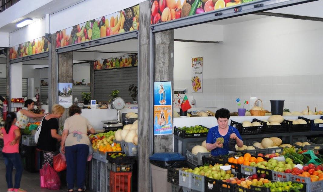 Mercado Municipal de Lamego aberto com controlo reforçado