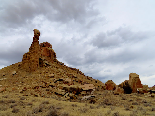 Mouth of Crescent Canyon