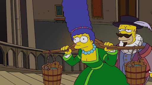 Los Simpsons 20x20 4 grandes mujeres y un manicure