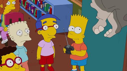 Los Simpsons 26x07 Colocados y confundidos