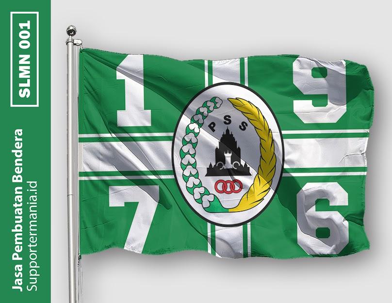 Desain Bendera atau Mini Flag PSS Sleman dan BCS 1