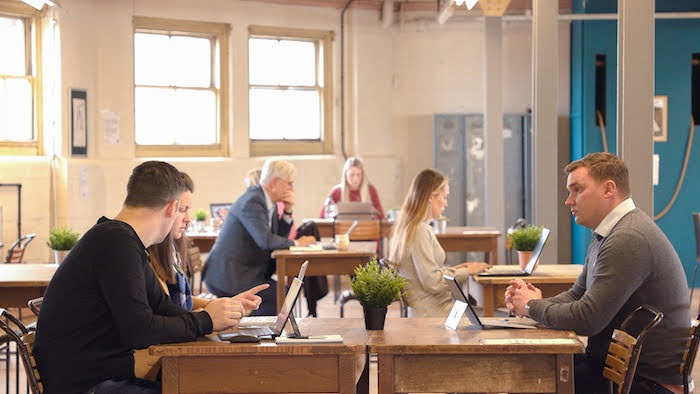 Enteprise Hub re-opens its workspace doors
