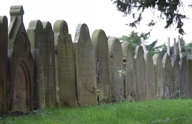 Two cemeteries to be 'made safe'