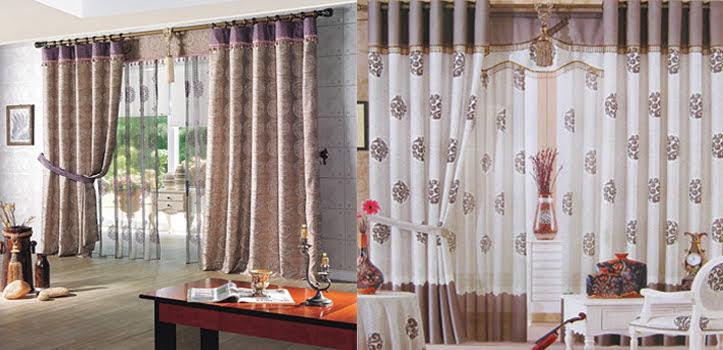 Rèm cửa vải Hàn Quốc Rkr906