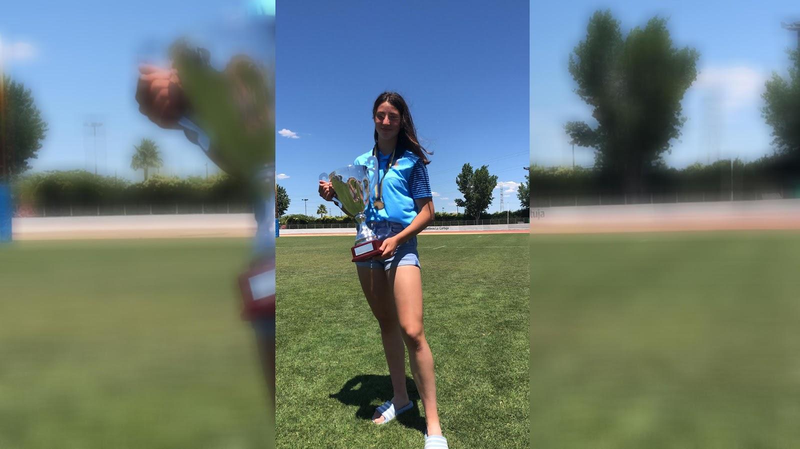 Claudia Cano, Campeona de España de Rugby