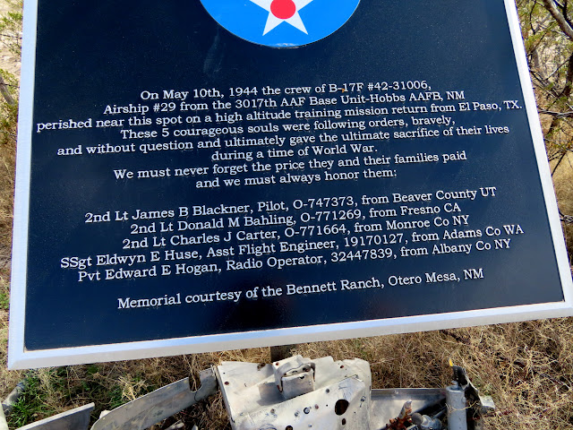 B-17 crash site
