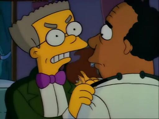 Los Simpsons 2x22 Sangre nueva