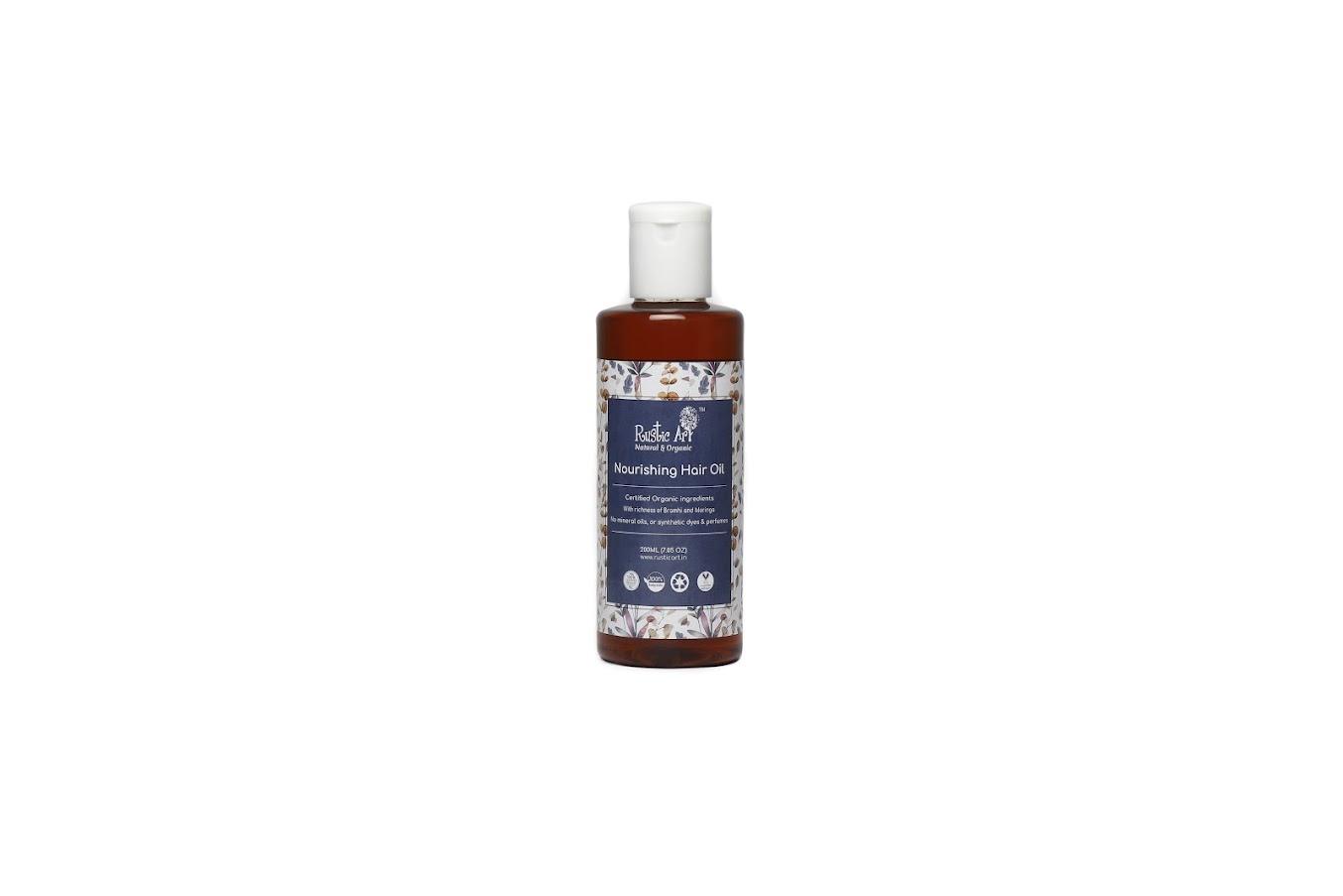 Rustic Art Organic Nourishing Hair Oil