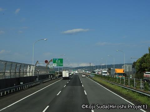 JRバス関東「グラン昼特急8号」 ・・12 2階 最前席からの眺望_13