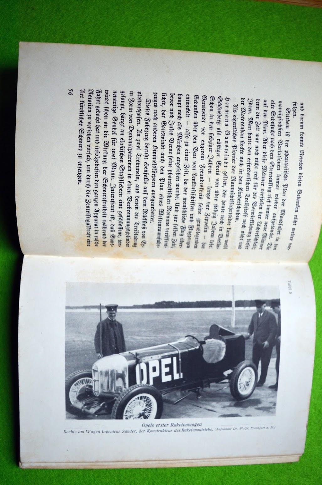 Otto Willi Gail, Mit Raketenkraft ins Weltall. Vom Feuerwagen zum Raumschiff, 1928