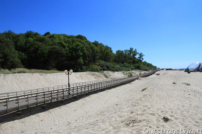 Пляж Янтарного, фото